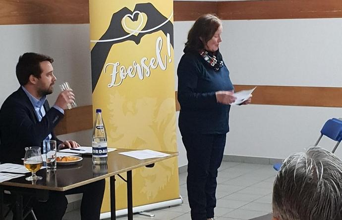 Walda Van Onckelen stelt zich voor als kandidaat Voorzitter